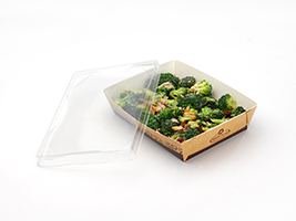 #READYFresh Kraft Container (Medium)| Prism Pak